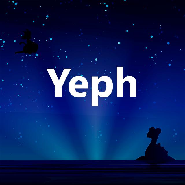 Imagen con el logotipo de Yeph