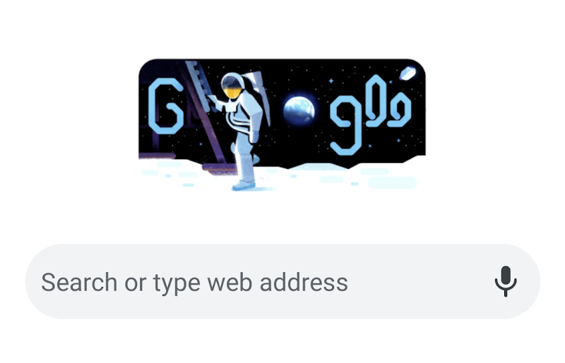 Google remembers making a doodle, Apollo 11 mission of the human fate on the moon