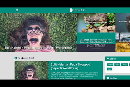 Download Igniplex Fixed v2.1 Template Blogger - Responsive