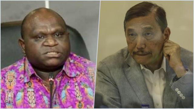 Ada Kata-kata 'Sikat Habis', Natalius Pigai Ingatkan Luhut: Saya Tahu Apa Niatnya di Papua