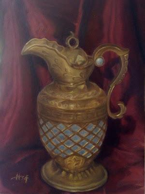 Arabian Teapot Painting