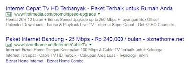 Paket Internet Rumah Terbaik di Kota Bandung