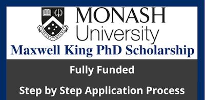 منحة ماكسويل كينج لدرجة الدكتوراة 2021 (ممولة بالكامل)/ Maxwell King PhD Scholarship 2021 (Fully Funded)