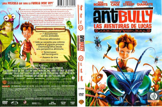 Descargar The Ant Bully - Las Aventuras de Lucas  para ps2 NTSC-PAL formato iso: es un videojuego basado en la película animada bajo el mismo título. La primera vez fue anunciada el 24 de julio de 2006 junto con el anunciamiento del film. La historia y las acciones corresponden a la película.