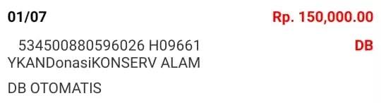 Donasi Juli 2021 Android31 PPOB STORE dan Bad Rabbit Merch