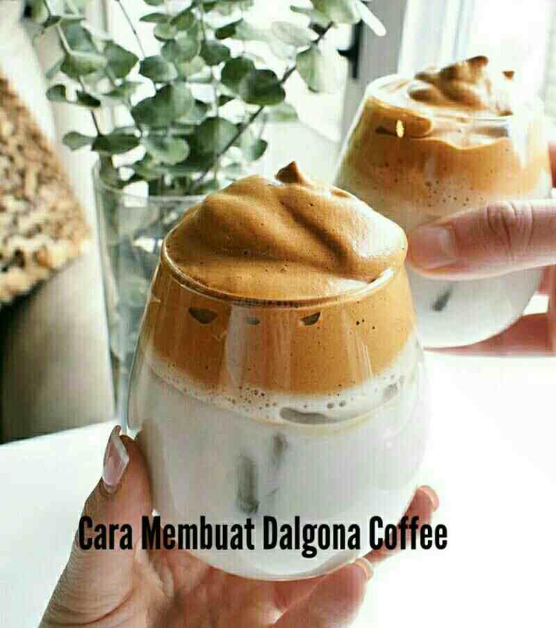 Nescafe Untuk Membuat Dalgona