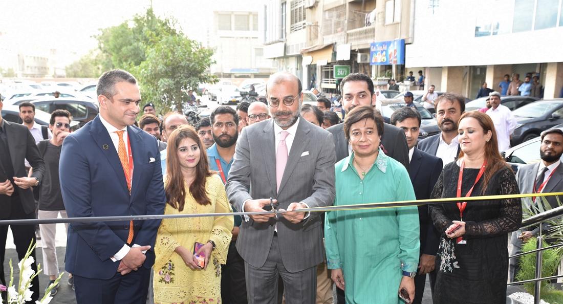 Bank Alfalah Launches its New Look at Clifton, Karachi
