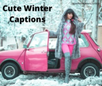 Cute Winter Captions