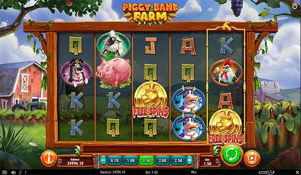 Main Gratis Slot Indonesia - Piggy Bank Farm (Play N GO)
