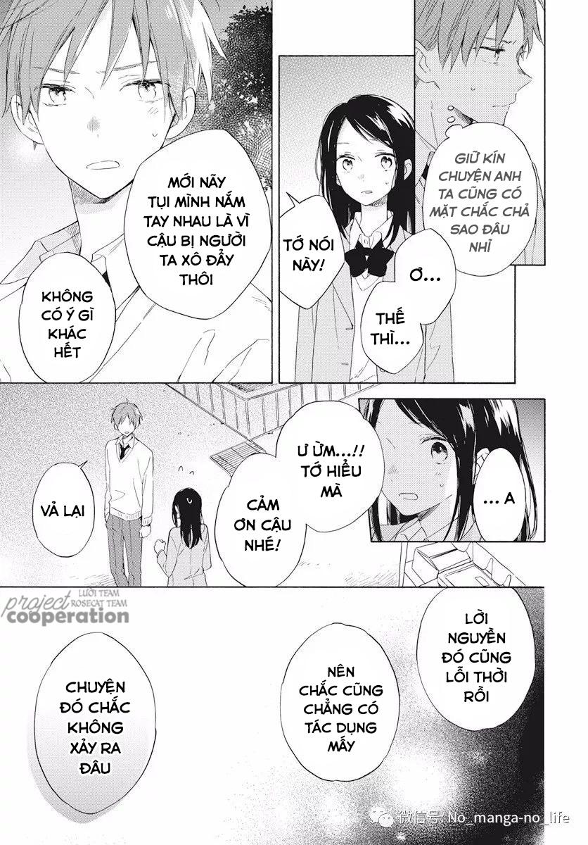 Kimi wa Haru ni Me wo Samasu chap 16 - Trang 6