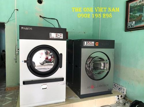 Lắp đặt máy giặt công nghiệp cho tiệm giặt tại Hà Giang
