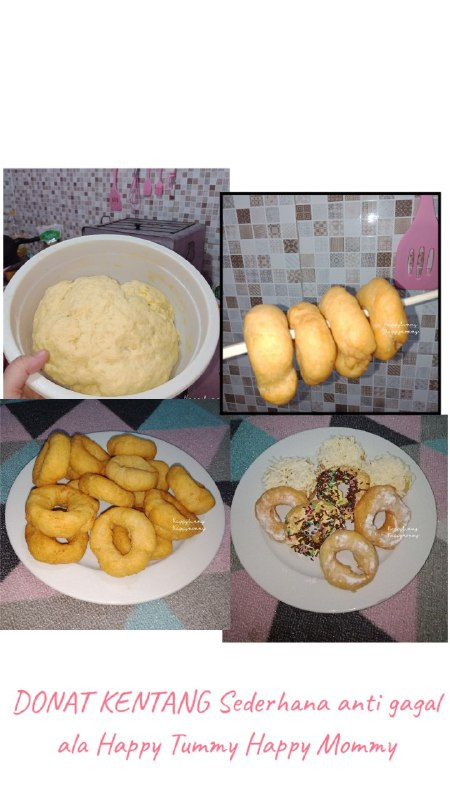 Resep Donat Kentang Sederhana Anti Gagal dan Anti Ribet