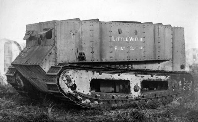 Tank Little Willie Perang Dunia I