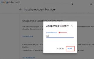 ماذا تريد من غوغل ان تفعله بحسابك بعد وفاتك ، تعرف على جميع الخيارات المتاحة