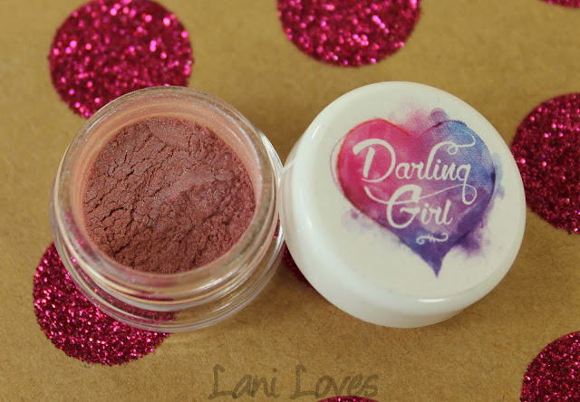 Darling Girl Fairy Floss Eyeshadow Swatches & Review