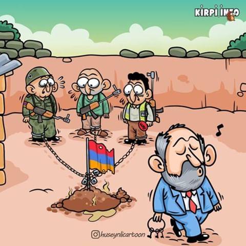 Ermeni gerçekliğini yansıtan komik ve anlamlı karikatürler