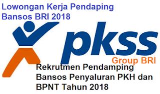 Lowongan Pendamping Bansos Bank BRI