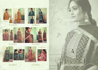 Alok Suits Jugni Hand Weave Jaquard Salwar Kameez Collection
