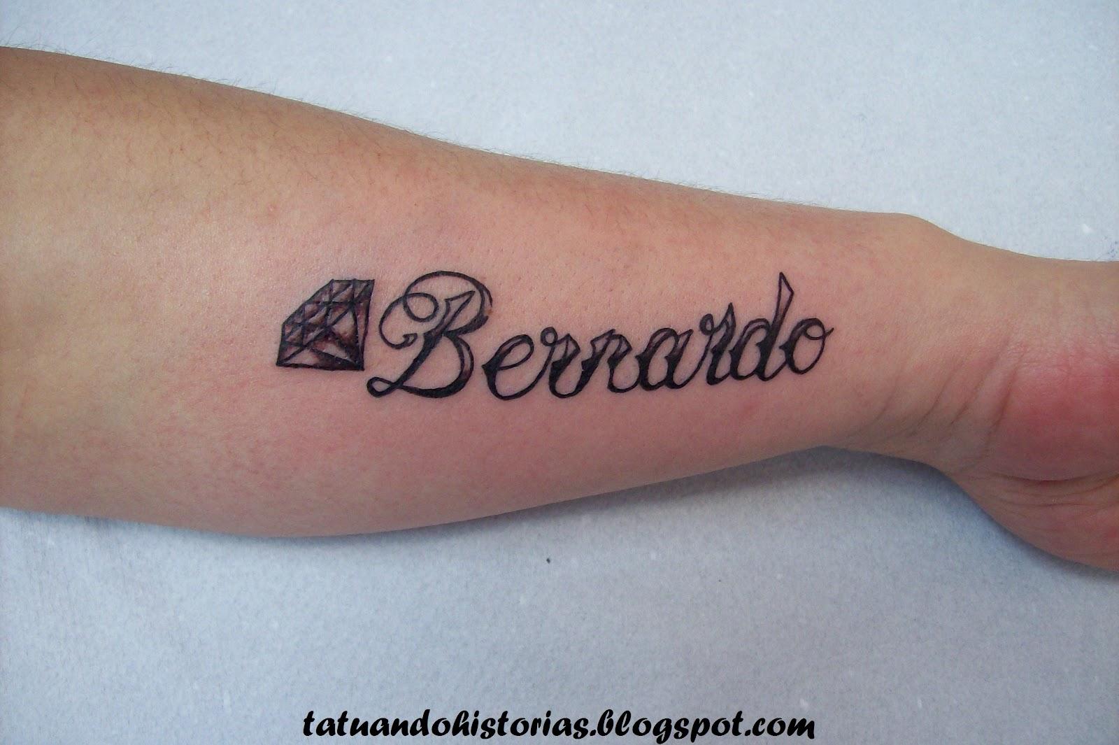 Tatuagem Com O Nome Bernardo