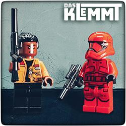Minifiguren Finn und Sith Trooper - www.dasklemmt.de