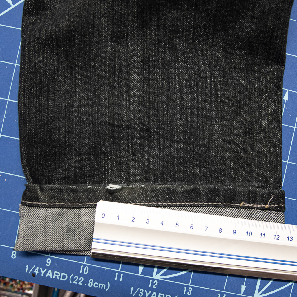 minn's things faulty fashion how to shorten jeans pants tutorial saving original hem step 4 folding up