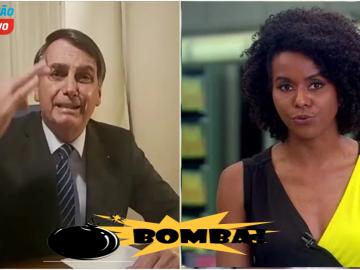Maju é envolvida em escândalo com Bolsonaro, tem entrevista bombástica viralizada e Globo toma atitude drástica