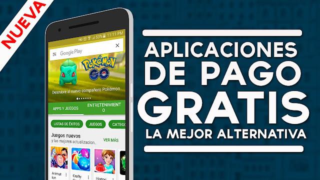 Descargar Gratis Cualquier Aplicacion y Juego de Google Play Store