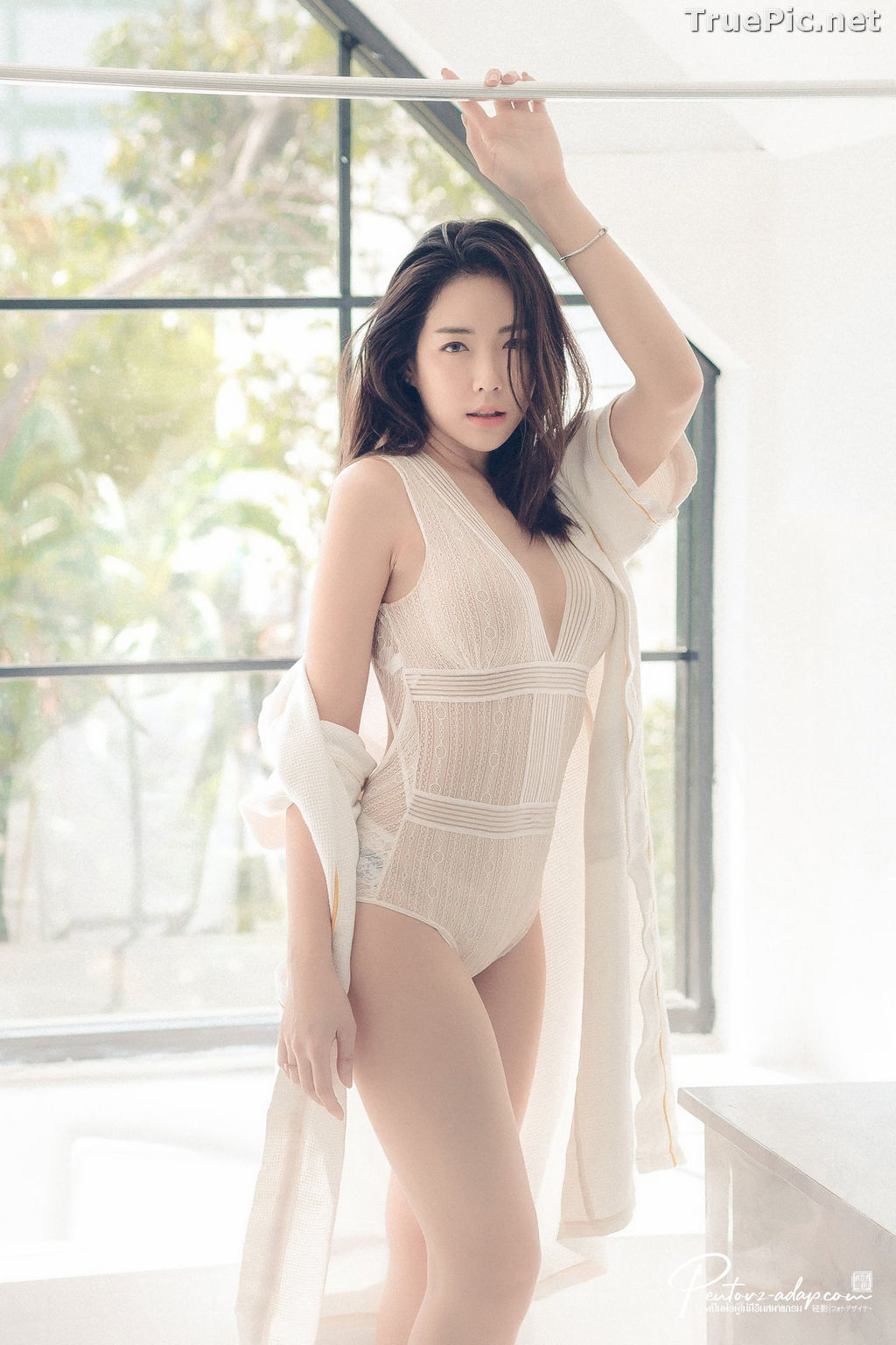 Image Thailand Model - Soraya Suttawas - Monikini Bath Light - TruePic.net - Picture-7