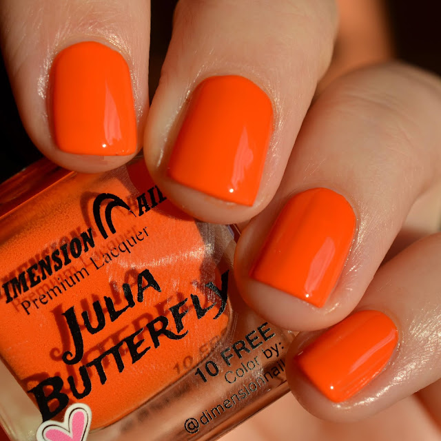 Dimension Nails Julia Butterfly swatch