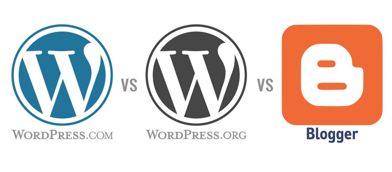 Kelebihan dan Kekurangan Menggunakan WordPress.com, WordPress.org dan Blogger