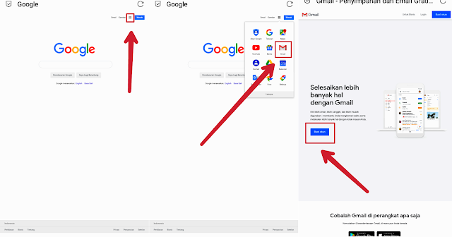 Cara membuat akun google lengkap di google crome