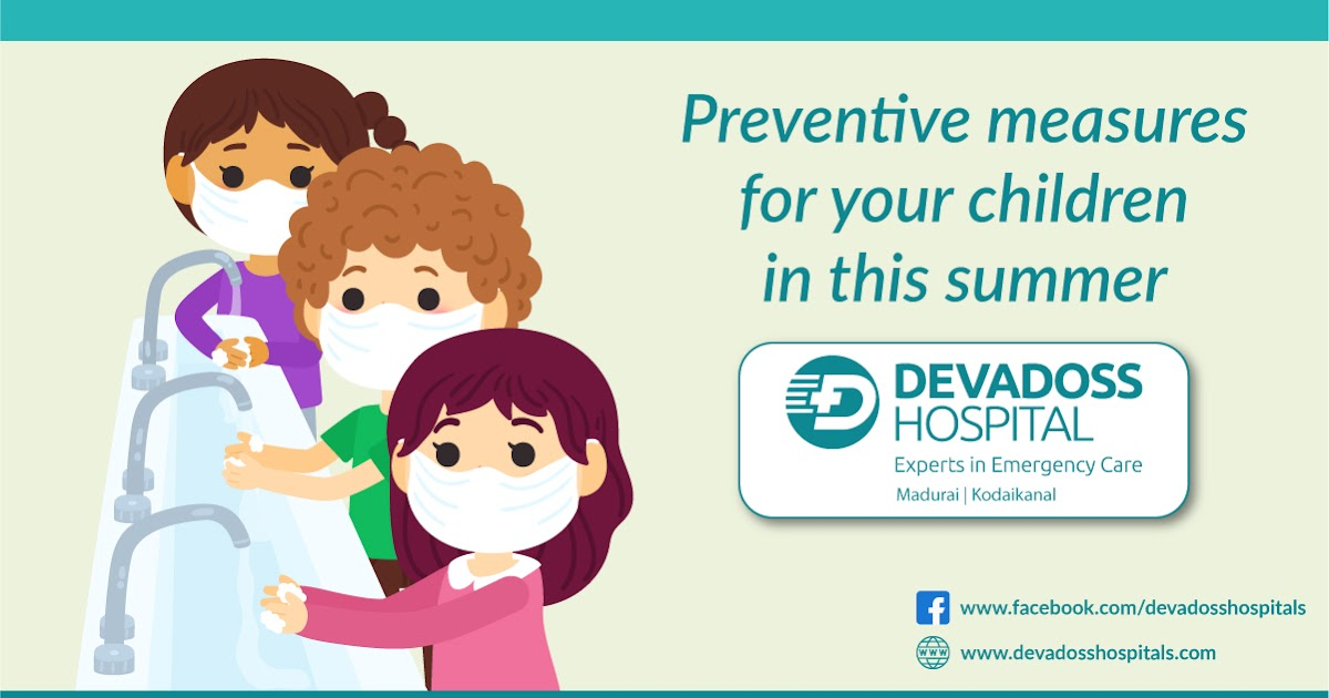 Preventive measures for your children this summer