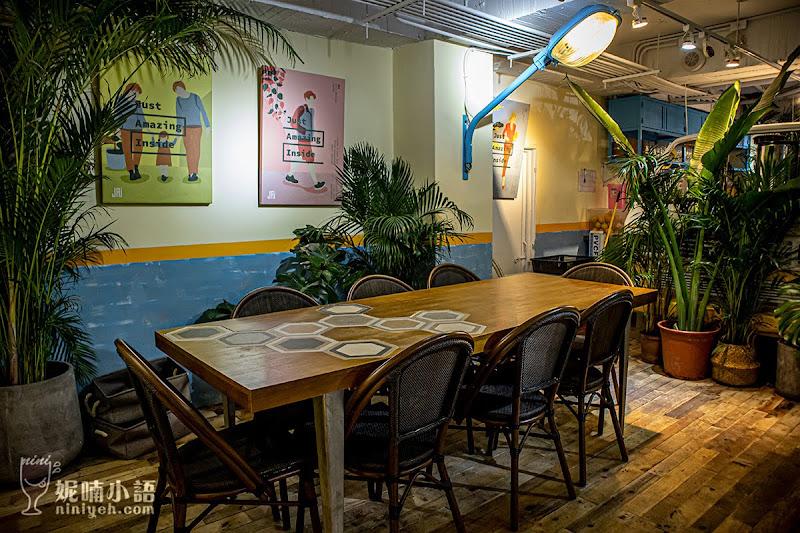 【西門町美食】JAI 宅西門店。森林系潮餐廳浮誇義大利麵