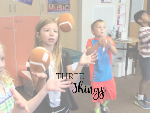 Three Things {Students vs. Zombies, Plainsies Clapsies and Queen Queen Caroline}