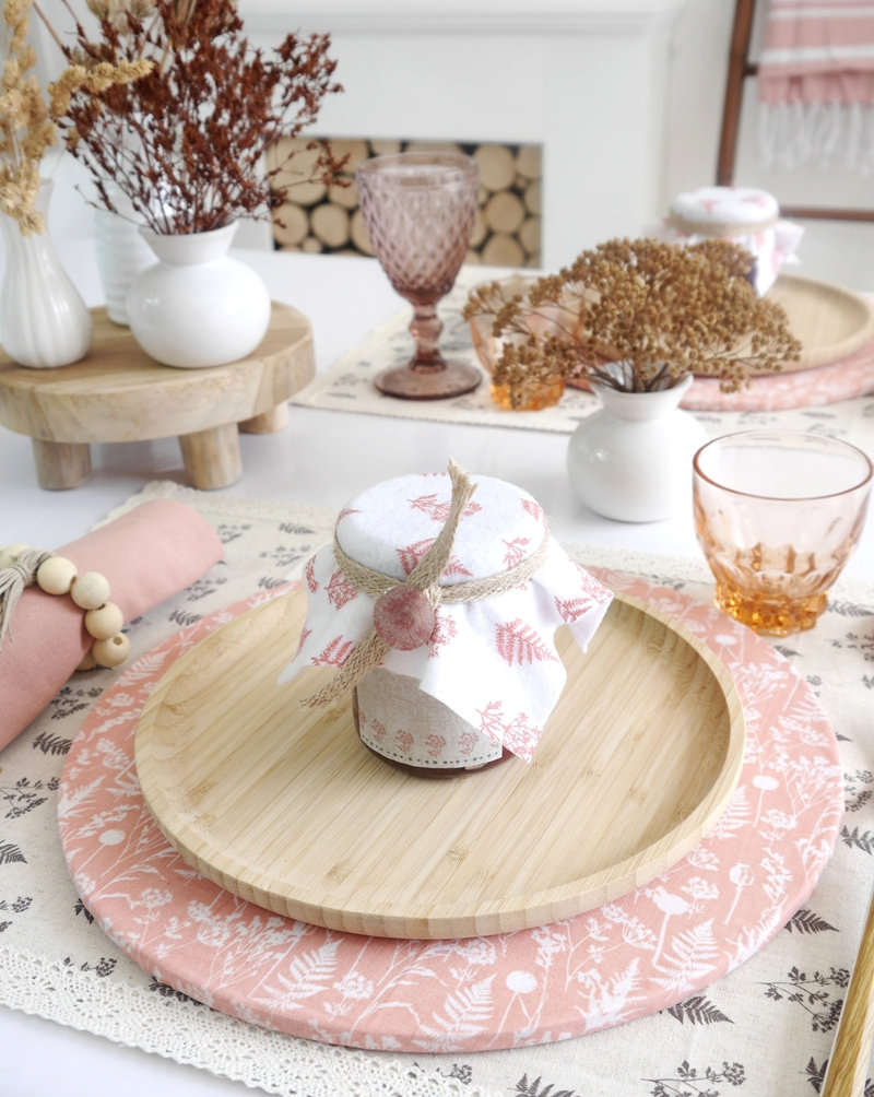 Scandinavian Inspired DIY Blush Tablescape and Decor for Fall