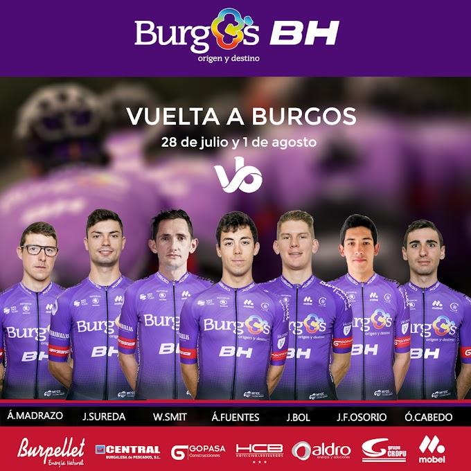 El equipo Burgos BH anuncia los corredores que disputarán la Vuelta a Burgos