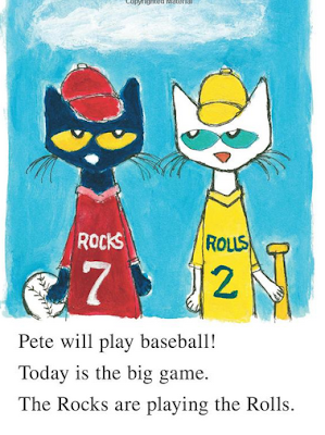 sample page #2 from PETE THE CAT: PLAY BALL! by James Dean