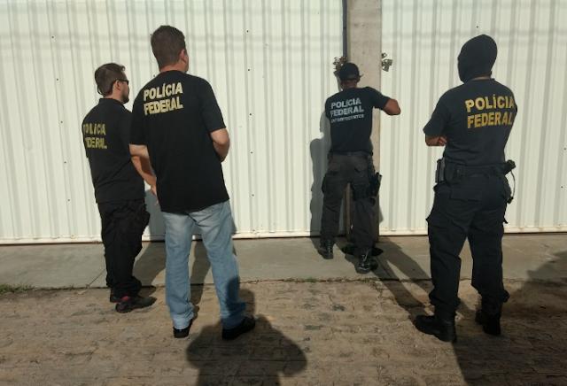 PF faz operação para prender organização criminosa em Delmiro Gouveia, Canapi e em mais três cidades alagoana