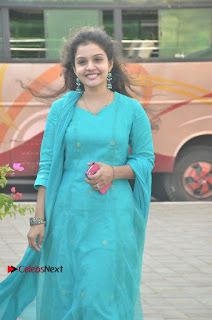 Tamil Actress Preethi Stills in Green Salwar Kameez at Kuzhalosai 2nd Anniversary Fund Raising Event  0027.jpg