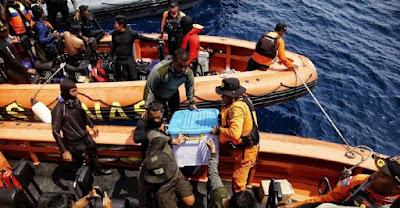 Black Box Lion Air Ditemukan Utuh di Perairan Karawang