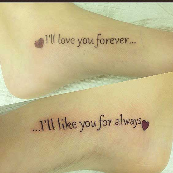 sister tattoo quotes