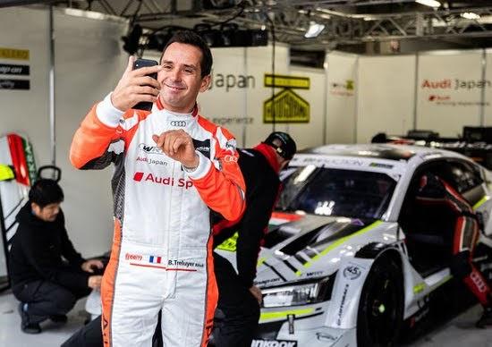 Audi-Pilot Tréluyer glänzt beim Comeback am Samstag