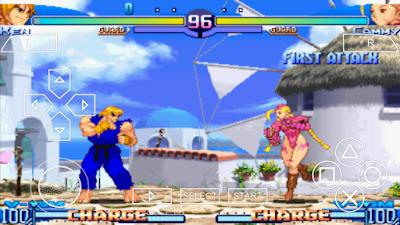 تحميل لعبة Street Fighter Alpha 3 MAX لأجهزة psp ومحاكي ppsspp