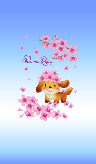 Bubble Dog~Sakura Rains