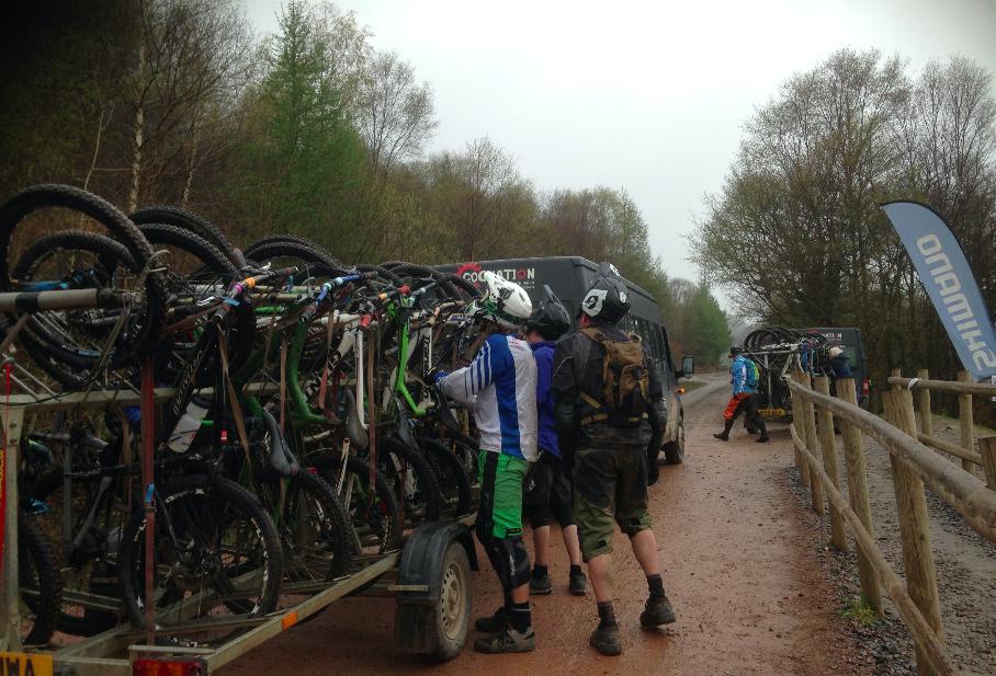 FitBits | Mountain biking in Wales | Bike Park Wales uplift
