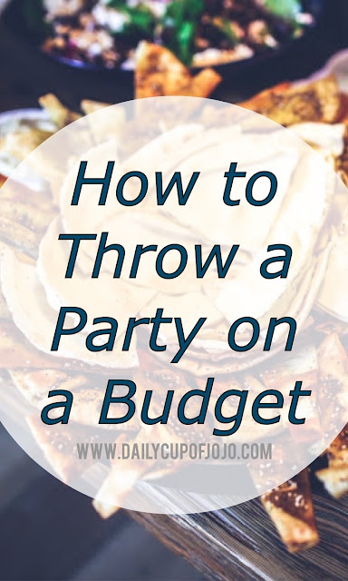 Budget party | host a party on a budget | throw a party on a budget | save money on dinner | host a party | how to host a party | party tips and tricks | hosting a dinner | how to hold a friendsgiving | friendsgiving ideas | party themes | wedding reception ideas | throw a party | party ideas | how to throw a party