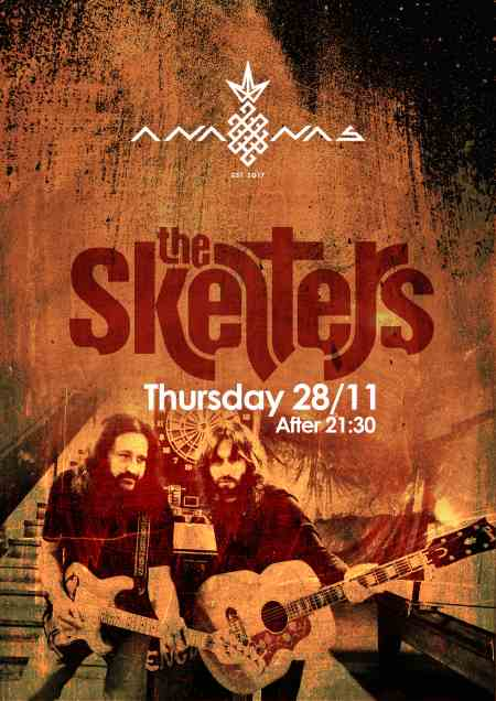 THE SKELTERS: Πέμπτη 28 Νοεμβρίου @  Ananas cafe bar