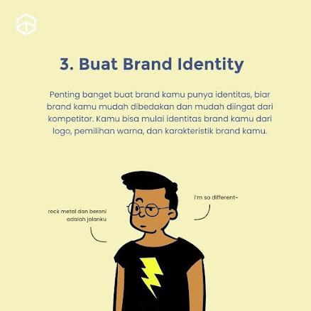 3 Cara Ampuh Bikin Brand kamu beda dari yang Lain