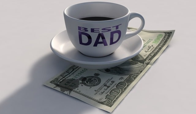 simple financial tips father's day frugal finance