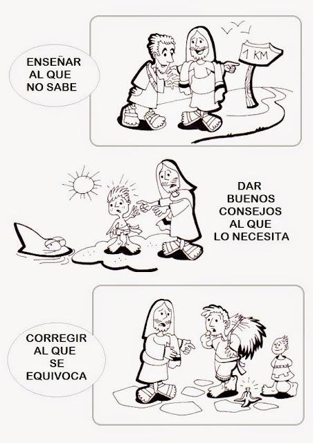 PEQUES Y PECAS...: FICHAS IMPRIMIBLES: LAS OBRAS DE